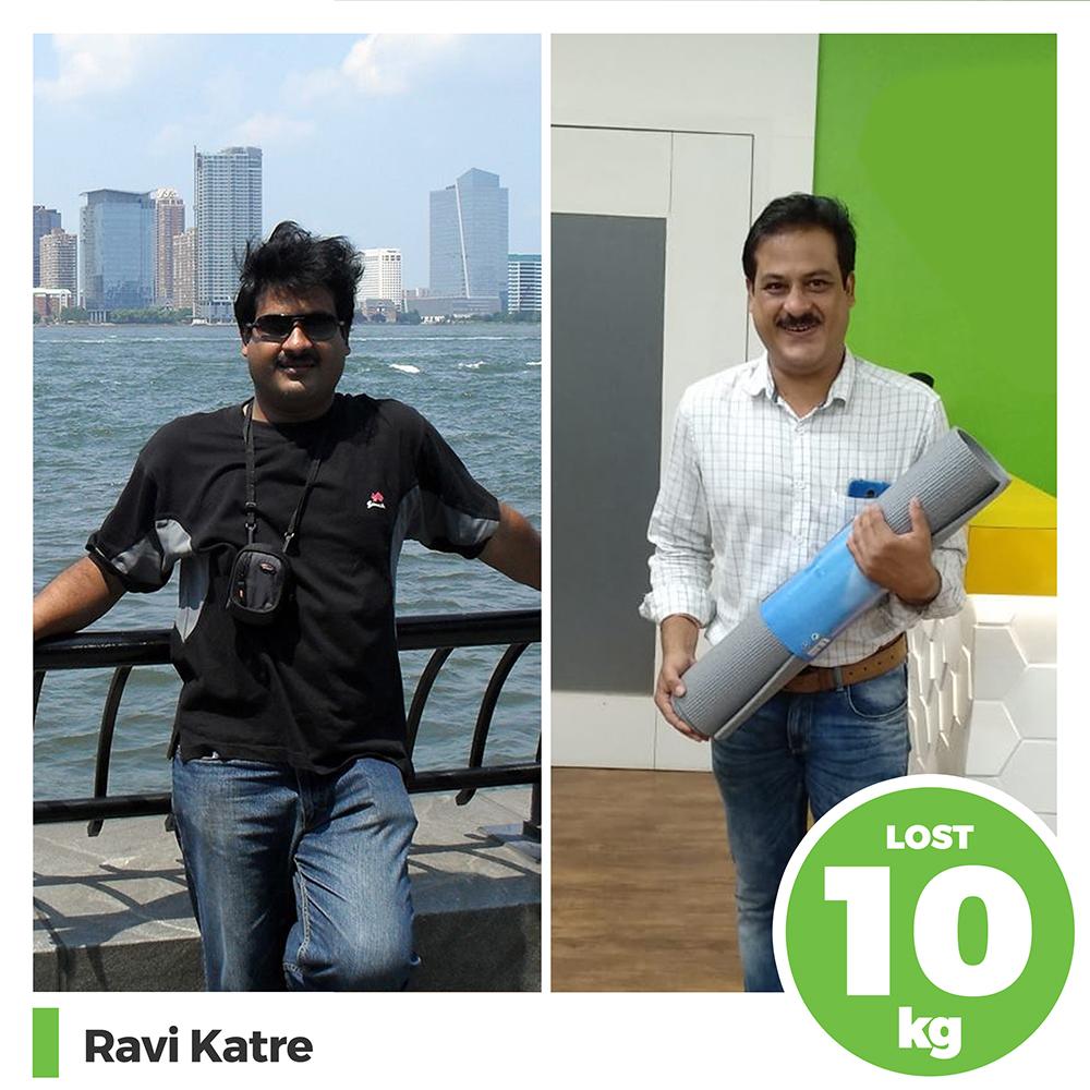 Ravi Katre 10 kg weight loss program pune