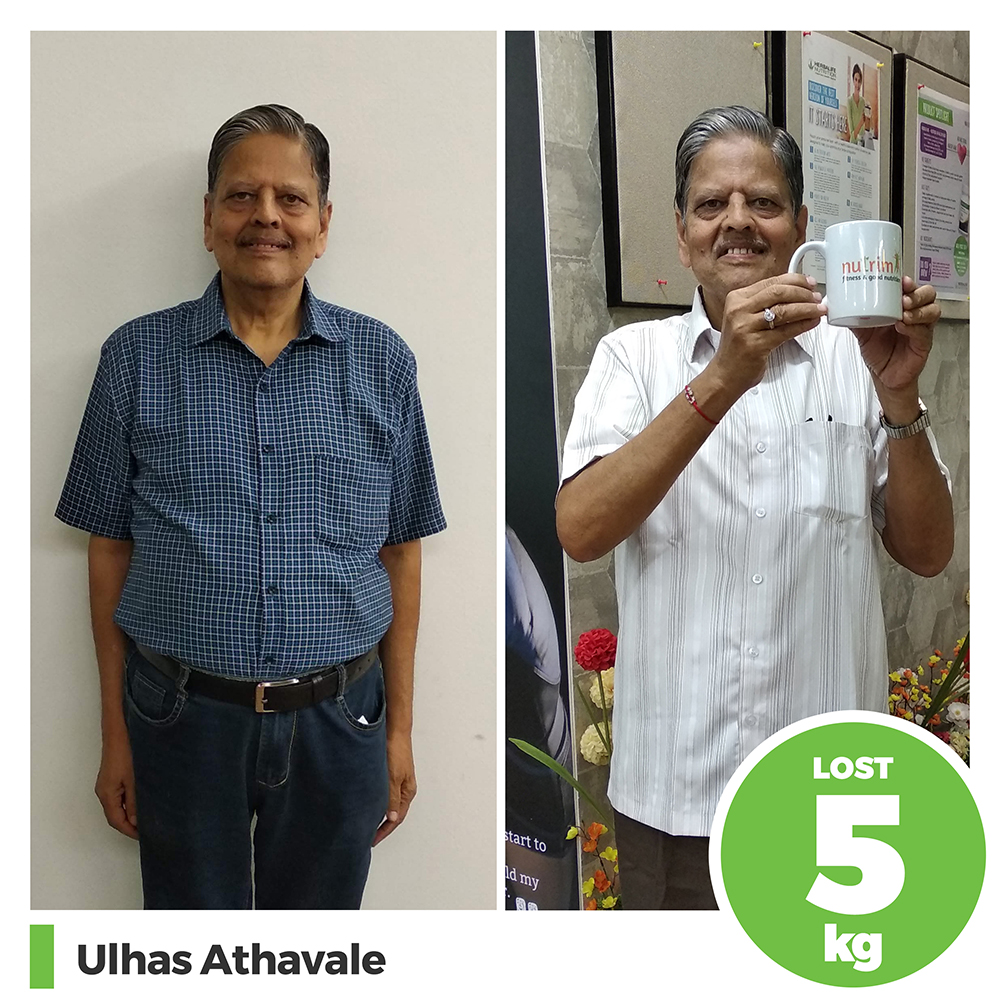 Ulhas Athavale 5 kg weight loss program pune