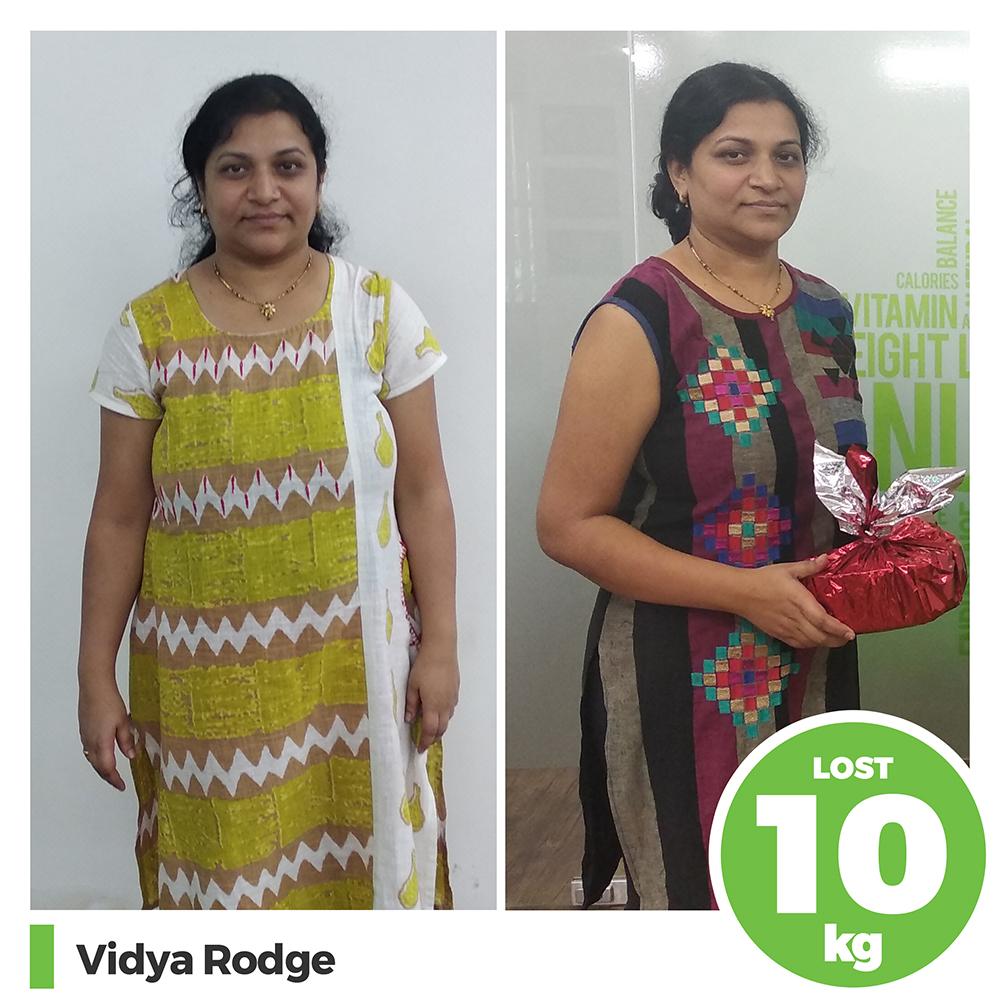 Vidya Rodge 10 kg post pregnancy weight loss pune